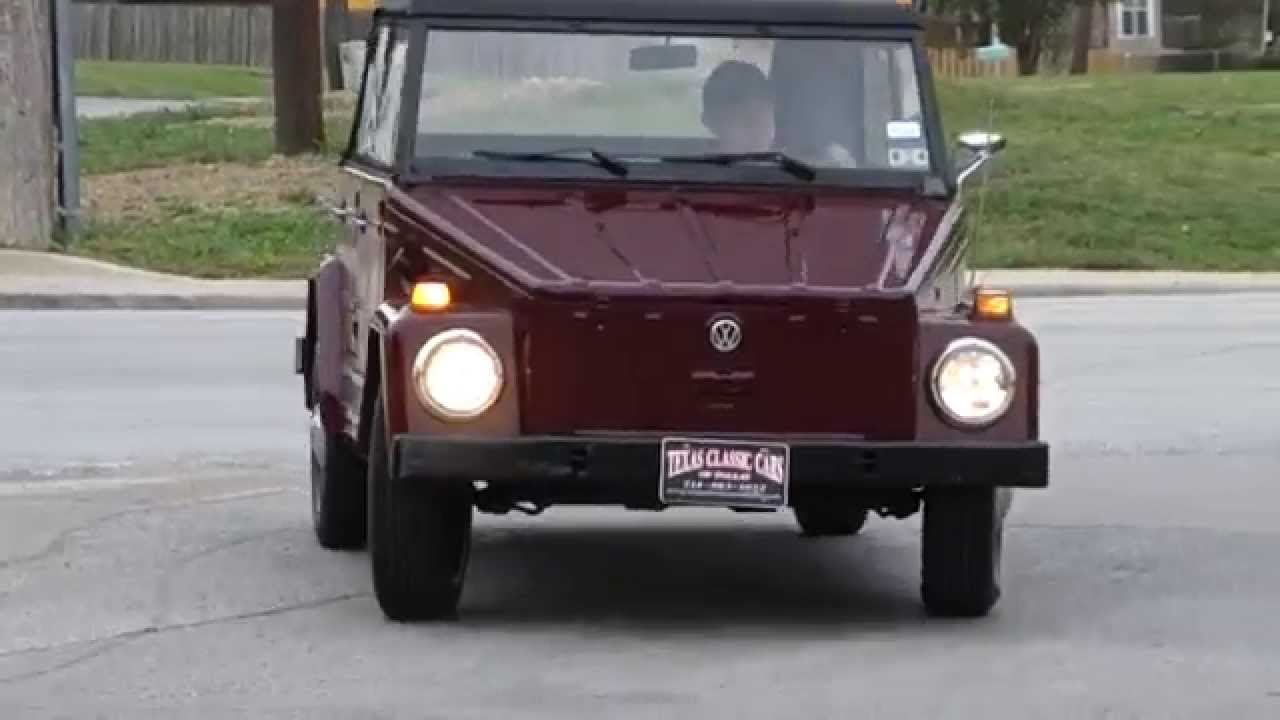 Car Show Dallas >> 1973 Volkswagen VW Type 181 THING Classic car - YouTube
