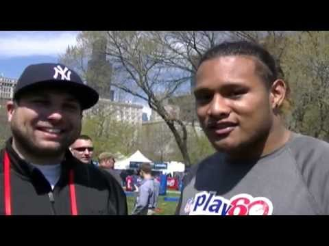 Danny Shelton Cleveland Browns Interview At NFL Draft