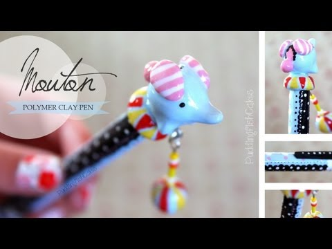 Tutorial harry potter wand pen polymer clay tutorial h for Nyan koi pool
