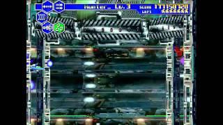 Thunder Force V 5 HD (Progressive) Sega Saturn Full Run Bad Ending...