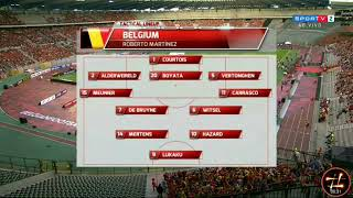 Belgium vs Costa Rica (4-1) -  International friendly