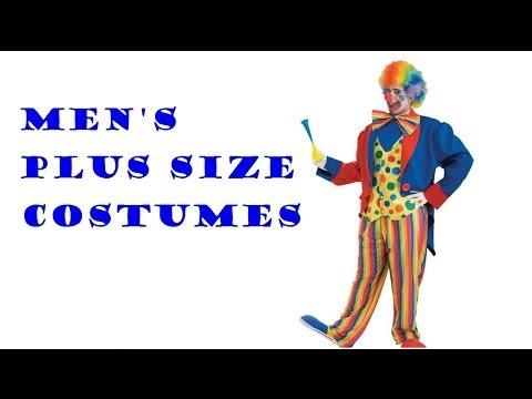 Men's Plus Size Adult Costume