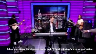 Andy Grammer performing Keep Your Head Up and Interview on Regis and Kelly