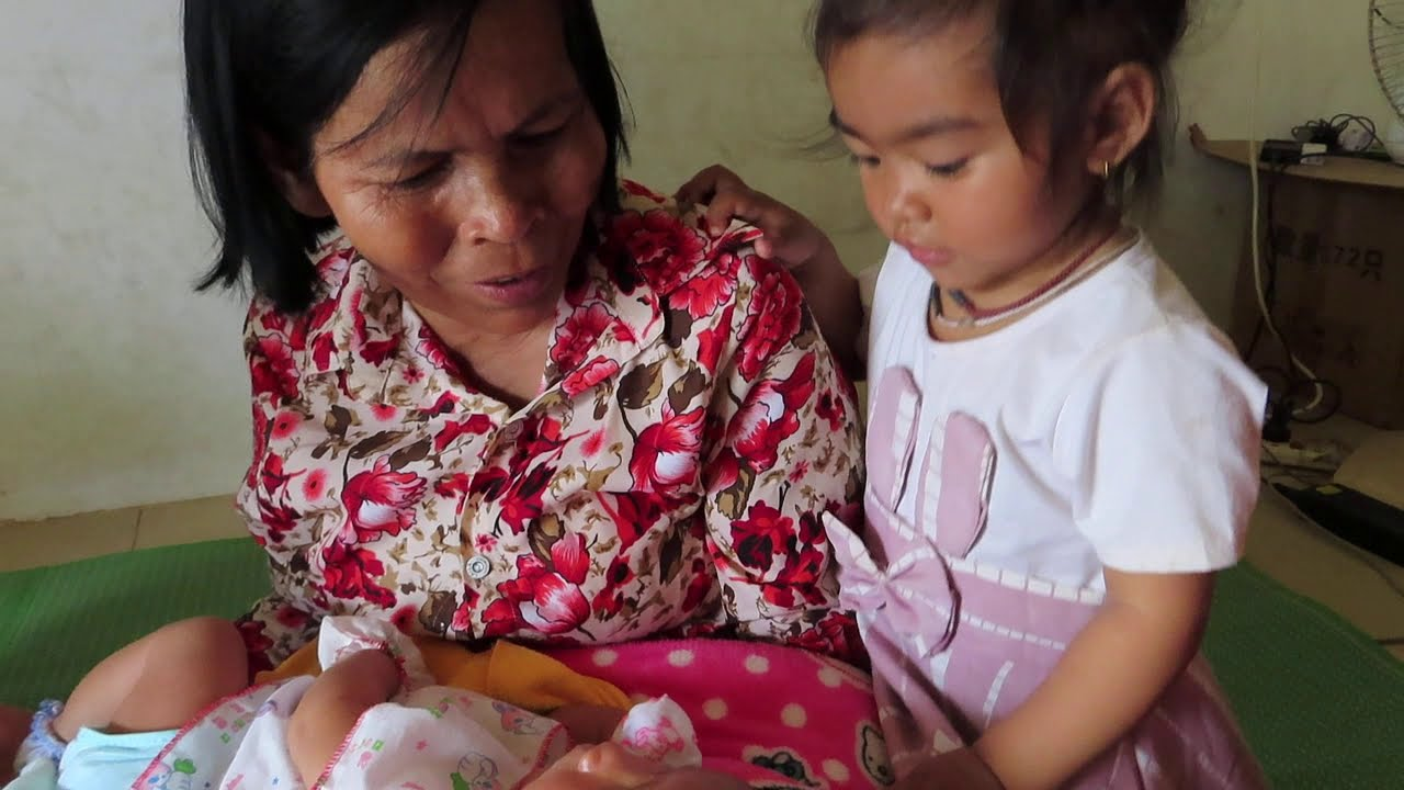 Sister Take Care Mony reach Baby So Lovely Cute Baby Video
