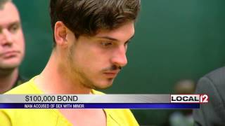 Man accused of sex with 14-year-old in court Friday