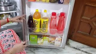 Indian fridge organisation  / how to store vegetables in fridge hindi  /Fridge cleaning routine 2017