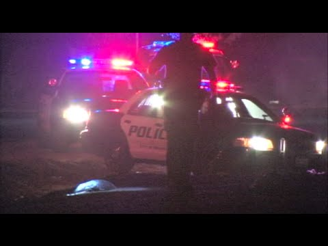 Police Chase, Manhunt, & Suspect Jumps In Canal - Modesto News Story