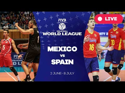 Mexico v Spain - Group 3: 2017 FIVB Volleyball World League