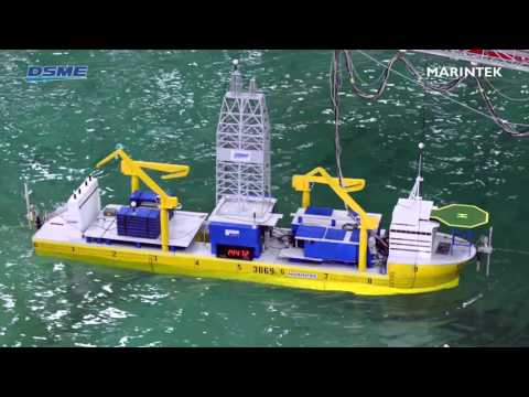 Documentation of a vessels dynamic positioning