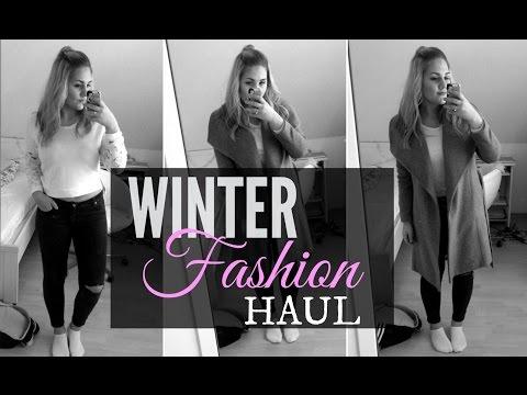 FASHION HAUL - WINTER 2015 | Zara, Mango, Vero Moda &&'