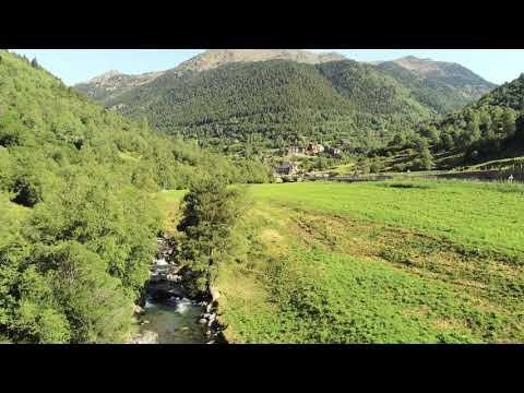 Andorra Mountains - Ordino- Drone 4k