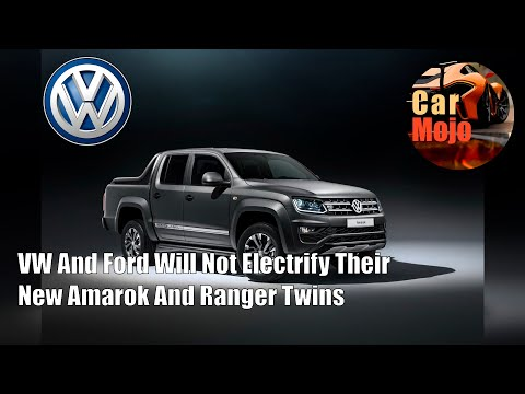 VW And Ford Will Not Electrify Their New Amarok And Ranger Twins | CarMojo
