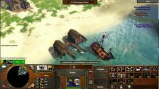 Let's Play Age Of Empire 08# - In Der Karibik (deathmatch)