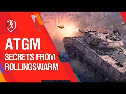 WoT Blitz. RollingSwarm. Tutorial. How To Play With ATGMs