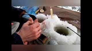 Зимняя  рыбалка Днепр