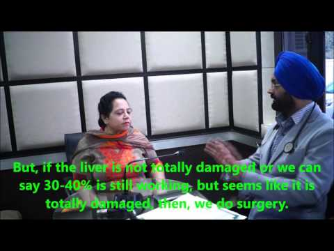 Dr. Kular discussing with patient about Fatty Liver and Bariatrics Surgery |Mini Gastric Bypass|