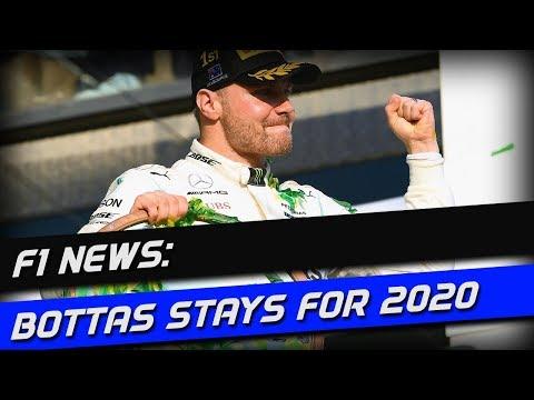 Breaking F1 News: Mercedes Keep Bottas For 2020