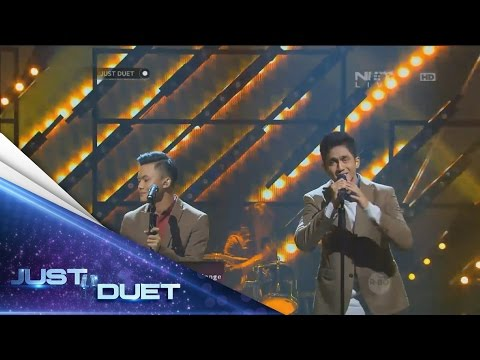 Take it slowly! Reffi & Rizky Febian sings Pelan-Pelan Saja by Kotak! - Live Duet 05 - Just Duet