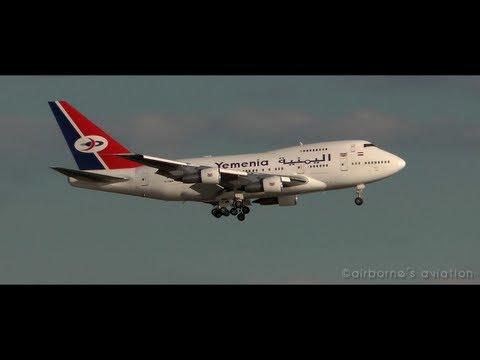 Yemen Airways Boeing 747SP