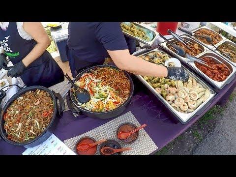 Street Food in Zoliborz Market, Warsaw, Poland