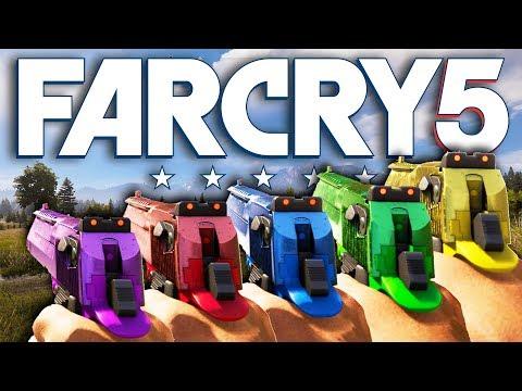 Far Cry 5 NEW NEON DESERT EAGLES! (Far Cry 5 Free Roam)