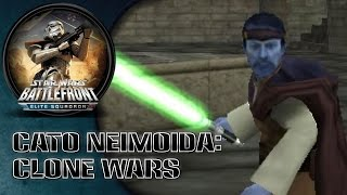 Star Wars Battlefront: Elite Squadron (PSP) HD Gameplay: Cato Neimoidia | Clone Wars
