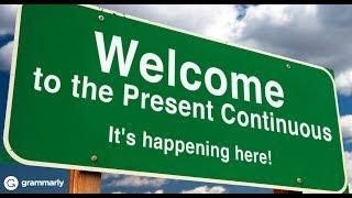 УРОК 3 - Present Continuous Tense1. Настоящее продолженное время