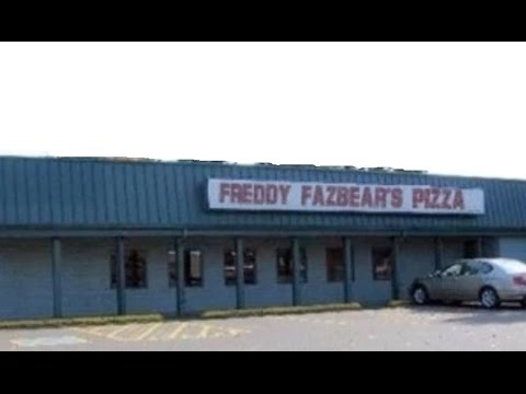 REAL LIFE Five Nights At Freddy's - YouTube
