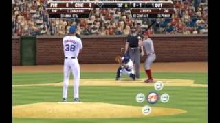 MLB 2k9 Wii Re-done Cubs vs. Phillies