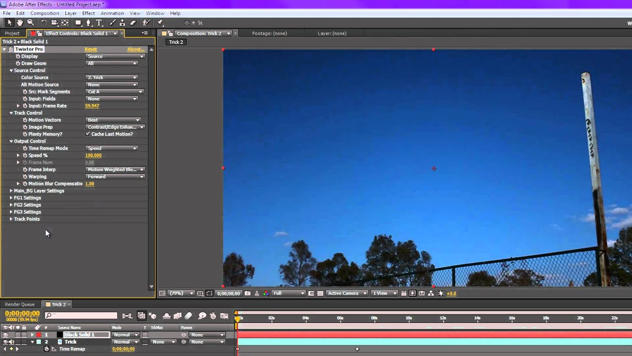 How to use twixtor in after effects cs5: 10 steps (with pictures).