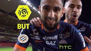 But Ryad BOUDEBOUZ (9') / AS Monaco - Montpellier Hérault SC (6-2) -  / 2016-17