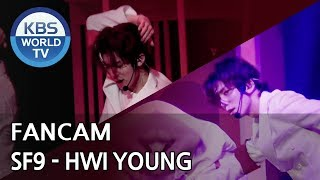 [FOCUSED] SF9's HWI YOUNG - Now or Never [Music Bank / 2018.08.03]