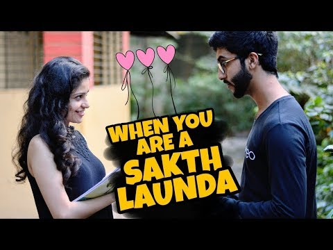 When a girl falls in love with Sakht Launda by d_point World.( 2k18)
