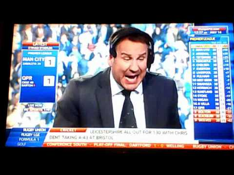 Man City win Premier League 2012 Soccer Special Reaction