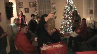 Video Yankee Swap at the Ball Household Xmas 2008 download MP3, 3GP, MP4, WEBM, AVI, FLV Agustus 2018