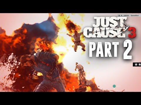 Just Cause 3 Walkthrough Part 2 - ROCKET ENGINE EXPLOSIVES (JC3 PC Gameplay 1080p 60fps)