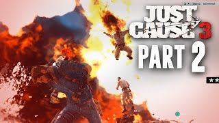 Just Cause 3 Walkthrough Part 2 - ROCKET ENGINE EXPLOSIVES (JC3 PC Gameplay 1080p 60fps)