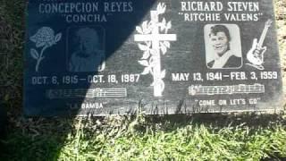 La Bamba Ritchie Valens Grave site!