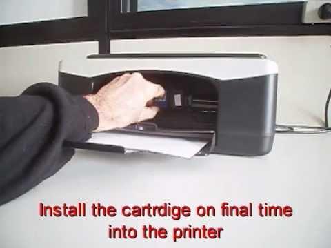 How to refill hp 21 black ink cartridge britanniainks. Co. Uk.