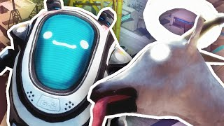 LICK THE ROBOT!! | Goat Simulator