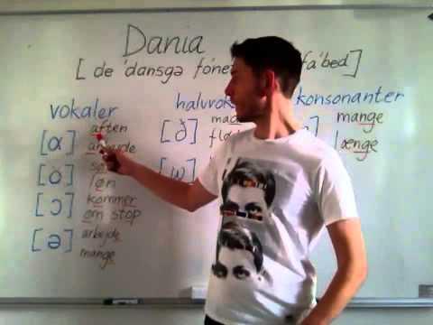 Det danske fonetiske alfabet - dania