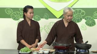 """Chương trình dạy nấu món chay """"Gỏi rau muống"""" Hướng dẫn: Nguyễn Dzo..."""