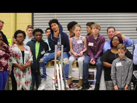 "FIRST Robotics Team, ""The ThunderBotz,"" open house"