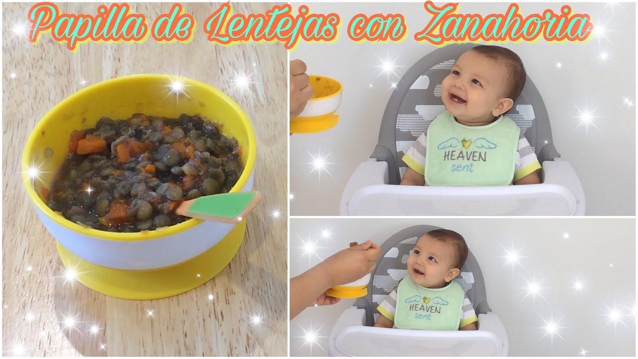 comidas saludables para bebes de 8 meses