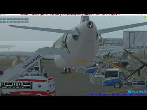 [X-Plane11] VivaColombia VA | A330 | Kangerlussuaq - St. John's | WORLD TOUR 2018 LEG 09 TAKE OFF
