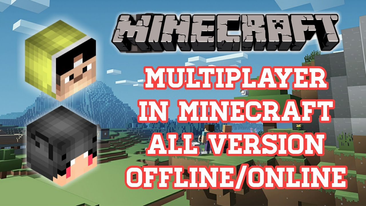 CARA BERMAIN MULTIPLAYER DI MINECRAFT PC (OFFLINE/ONLINE ...