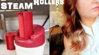♥ Caruso Steam Rollers Tutorial + Bloopers! ♥