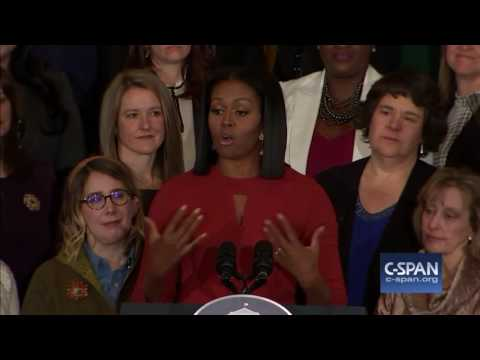 Ultimo discorso completo di Michelle Obama come First Lady C SPAN sub ita