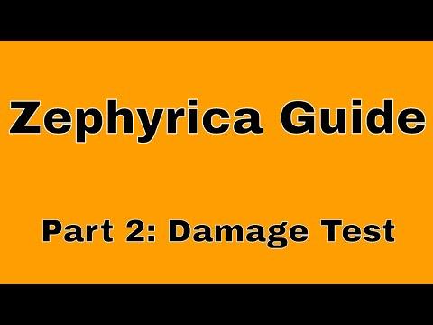 Castle Clash Zephyrica Guide:  How To Build The Best Dragon (Part 2: Damage Test)