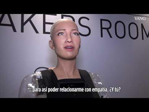 Entrevista a la robot Sophia